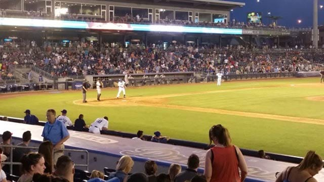 Drillers Fall To Naturals In First Nationally Televised Game
