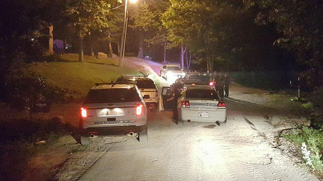 Driver Wrecks Pickup After Coweta Police Chase