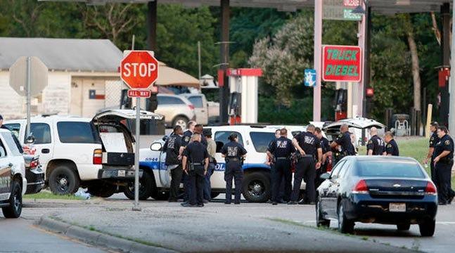 Gunmen Open Fire On Cops At Dallas Police Headquarters