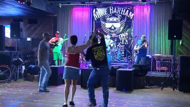 Crowds Attend Benefit Concert For Claremore Firefighter's Widow, Daughter