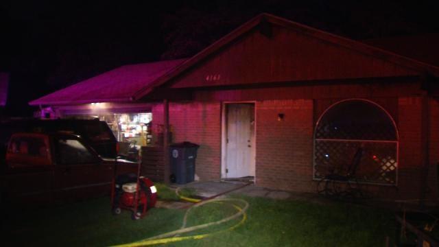 Man Injured In Tulsa House Fire