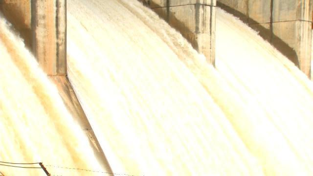 Corps Of Engineers On Oklahoma Lake Flood Watch