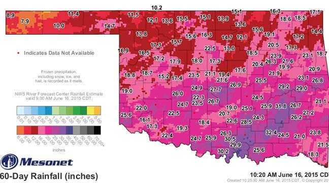 Dick Faurot's Weather Blog: Oklahoma May Be in for a Perfect Storm!