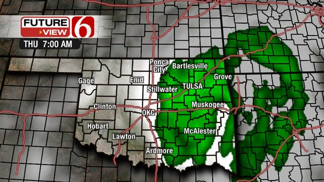 Tropical Storm Could Bring Unprecedented Flooding To Oklahoma
