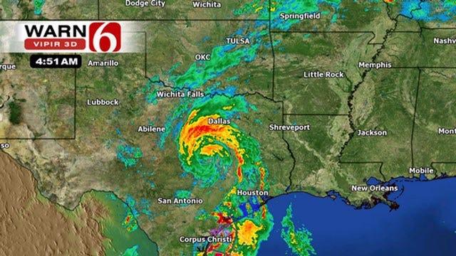 Alan Crone's Weather Blog: Heavy Rain Headed To Oklahoma