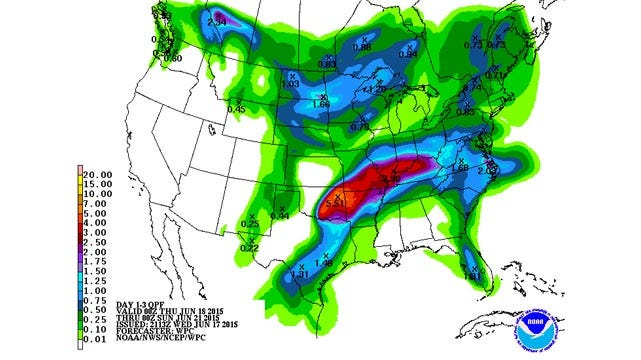 Dick Faurot's Weather Blog: Turn Around, Don't Drown