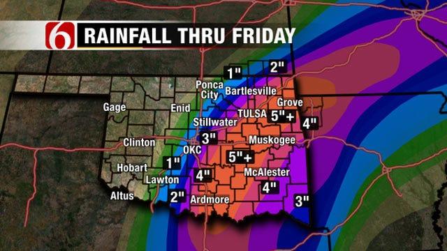 Major Flooding Event Expected Across Eastern Oklahoma