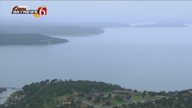 Osage SkyNews 6 HD Checks Water Levels At Keystone, Skiatook Lakes