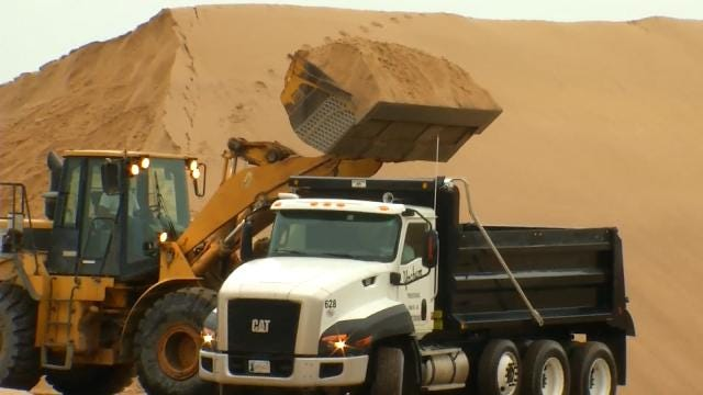 Wagoner County Seeing Big Demand For Sand Bags