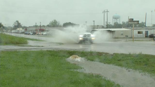 Creek County Residents Not Fazed By Tropical Depression Bill