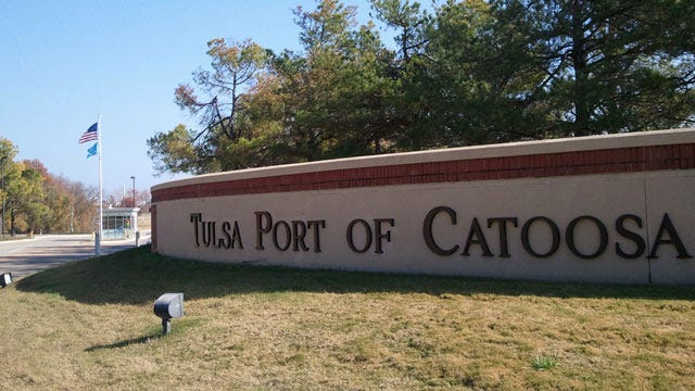 High River Levels Stop Port Of Catoosa Barge Traffic