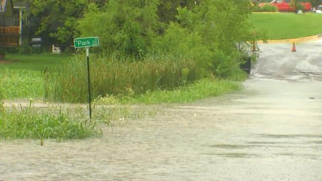 Sapulpa Neighborhood Near Rock Creek Floods Again