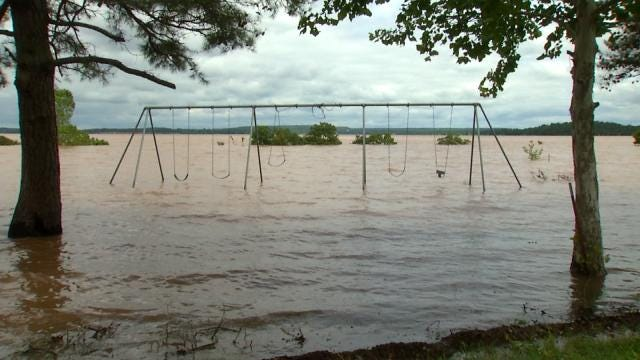 Campground Reservations Canceled At Lake Tenkiller, Eufaula