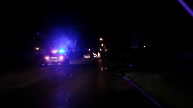 Driver On The Run After High-Speed Tulsa Police Chase