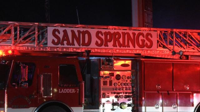 Long-Time Sand Springs Business Damaged By Fire