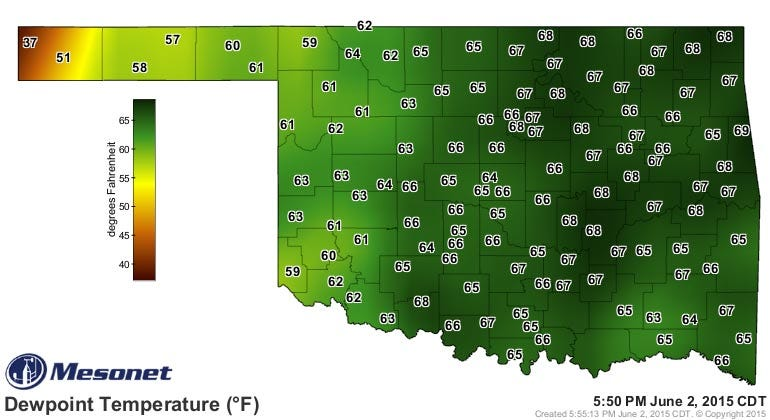 Dick Faurot's Weather Blog: Warm, Humid, More Like Summer