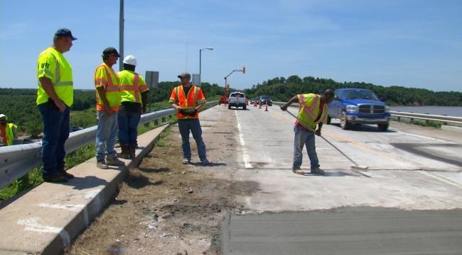 Drivers Facing Bumpy Ride Leading Up To Keystone Dam Bridge