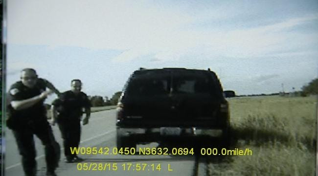 Video Shows Oologah Officer's Crash During Police Chase