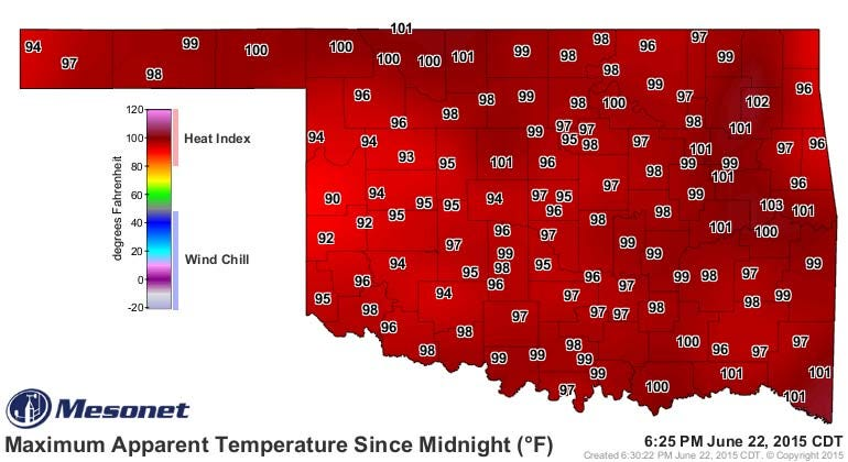 Dick Faurot's Weather Blog: Hot, Humid For A Few More Days