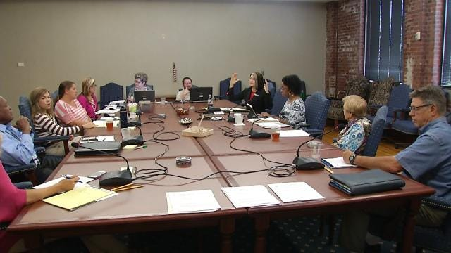 Incoming TPS Superintendent Holds First Board Meeting