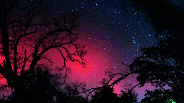 Oklahomans Could Get Glimpse Of Northern Lights