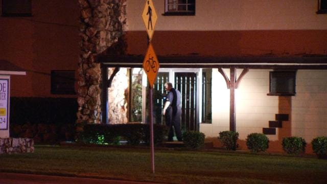 Tulsa Police Search For Man In Church Burglary