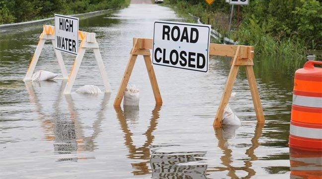 UPDATE: Latest Oklahoma High-Water Road Closings