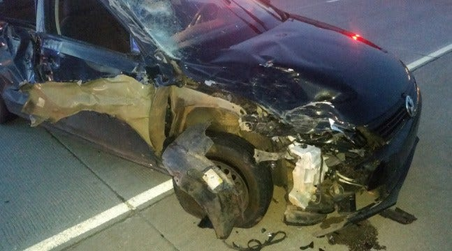 Woman Hurt In Four-Car Crash On Tulsa Highway