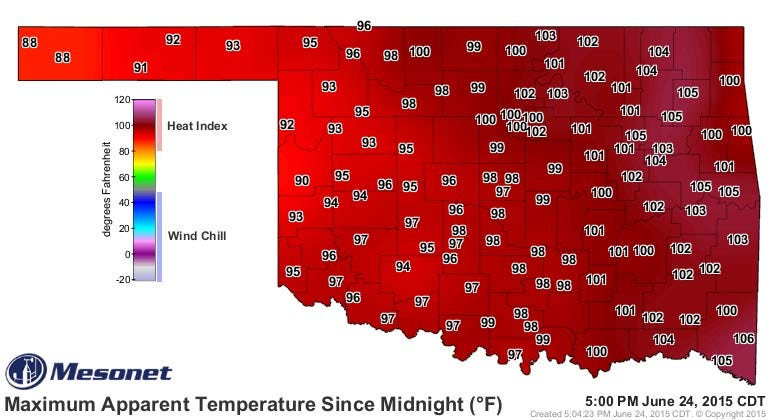 Dick Faurot's Weather Blog: One More Hot Day; Relief Is On The Way
