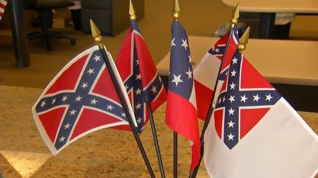 Many Tulsa Stores Removing Confederate Flag From Shelves