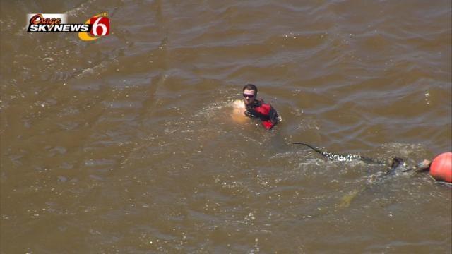 Tulsa Firefighters Warn Of Swift Water Dangers After Water Rescue