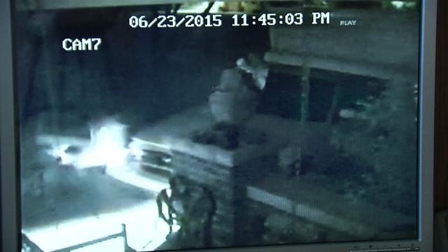 Video Captures Driver Slamming Into Tulsa Couple's Home