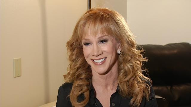 EXCLUSIVE: Comedian Kathy Griffin Weighs In On Same-Sex Marriage Decision