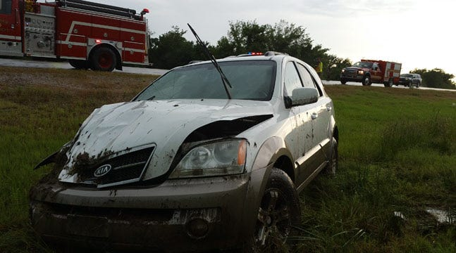 Police: Rain Causes SUV To Crash Near Warner
