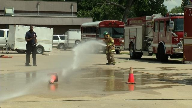 Tulsa Fire Camp Trains Teens To Be Firefighters