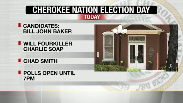 Cherokee Nation Holding Tribal Elections