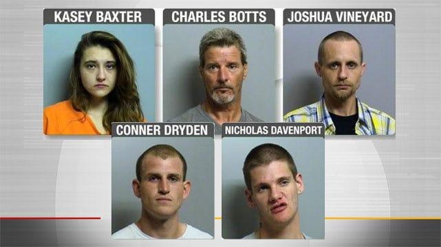 Five Arrested For Making Meth At Tulsa Motel