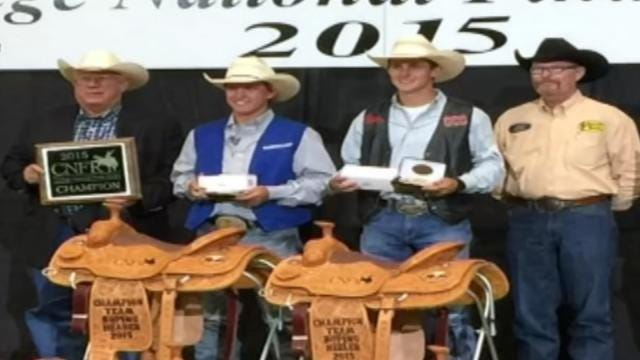 Green Country Cowboys Bring Home College Team Roping Title