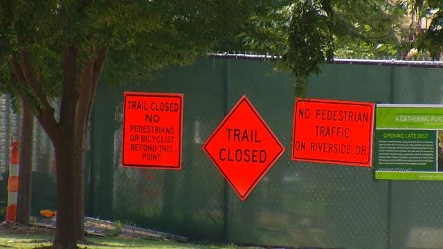 Construction Forces Changes To Tulsa Freedom Fest Fireworks Show