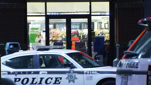 Shots Fired Outside North Tulsa Convenience Store