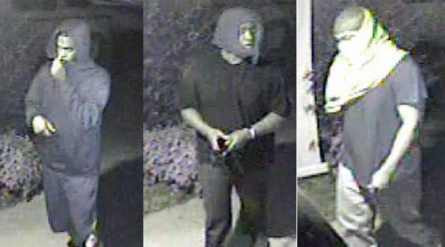 Tulsa Police Seek Three Burglary Suspects