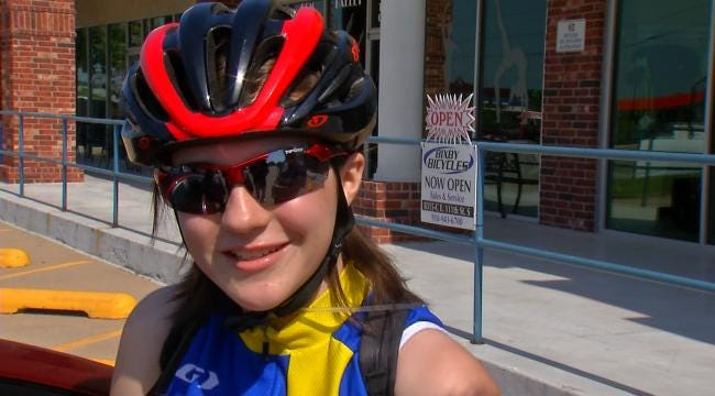 Oklahoma Cyclist Pedaling Past Health Problems