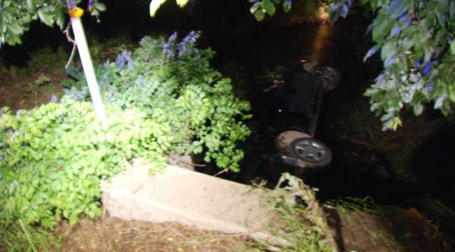Witness Aids Family After Early-Morning Crash Into Rogers County Creek