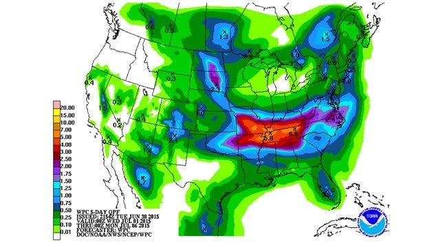 Dick Faurot's Weather Blog: Hot Again Wednesday, Late Week Rains