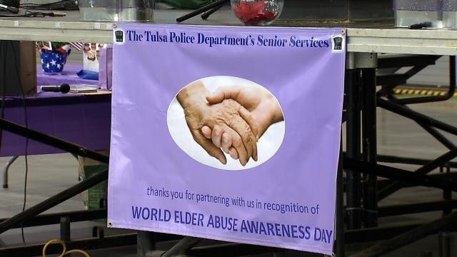 Tulsa Police Host Elder Abuse Awareness Event