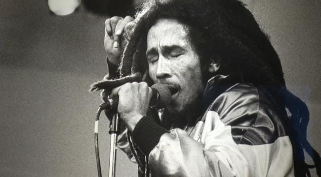 Bob Marley Exhibit Appearing At Woody Guthrie Center