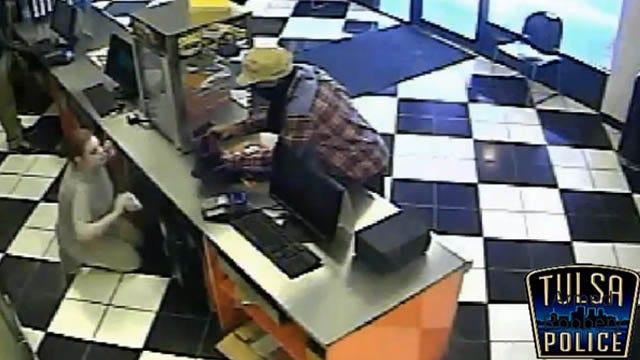 Armed Man Robs Tulsa Little Caesars