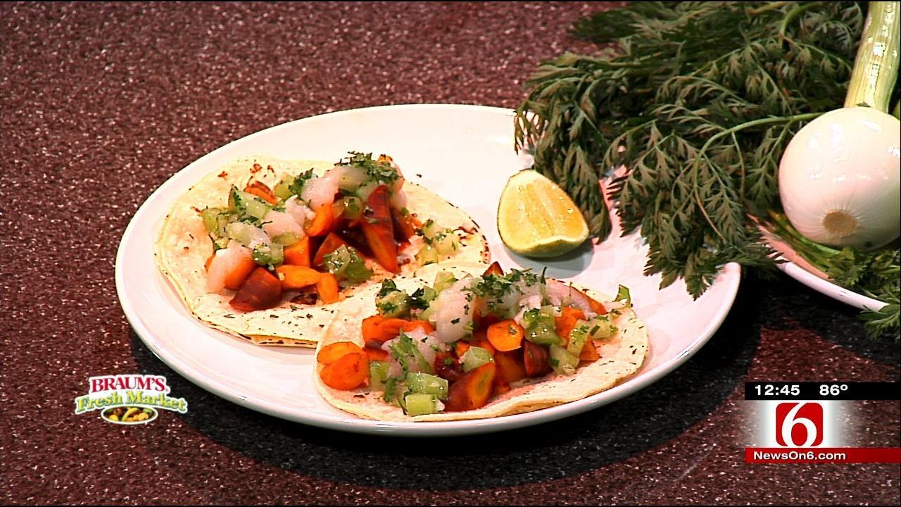 Glazed Carrot Tacos