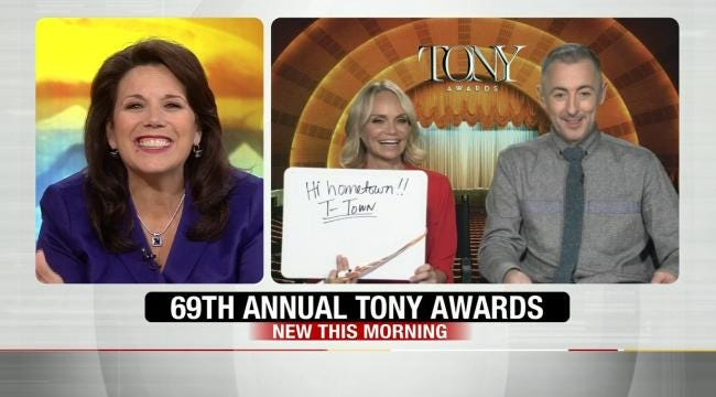 Tony Awards Hosts Appear On 6 In The Morning
