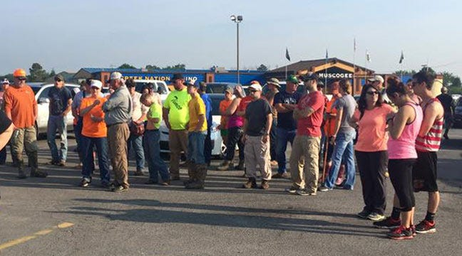 Authorities, Volunteers Search For Men Missing Since Rocklahoma